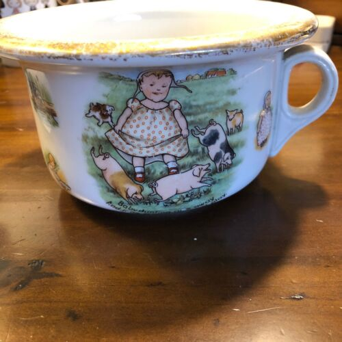 """Antique Roseville Pottery """"Baby Bunting"""" Child"""