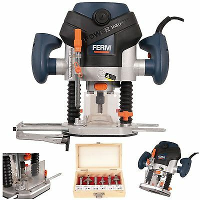 Ferm Electric Router 1300w Power Tool & Accessories