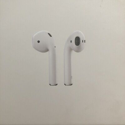 Apple AirPods 1stGen Wireless Earphones Retail Packaging Box With Lightning Cabl
