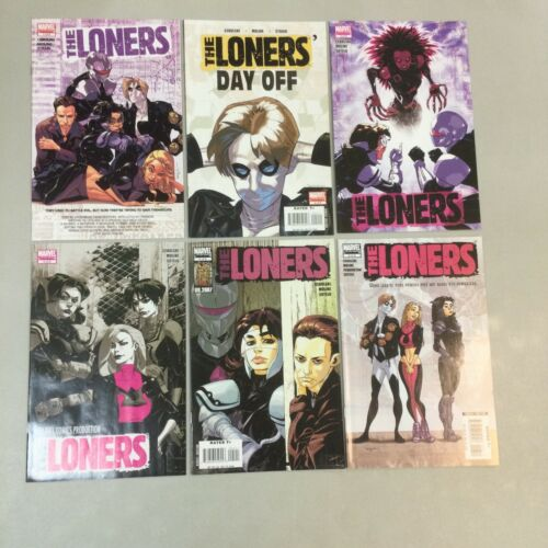 The Loners 1-6 Complete Set 1 2 3 4 5 6 Marvel Comics 2007 TL04  - $12.48