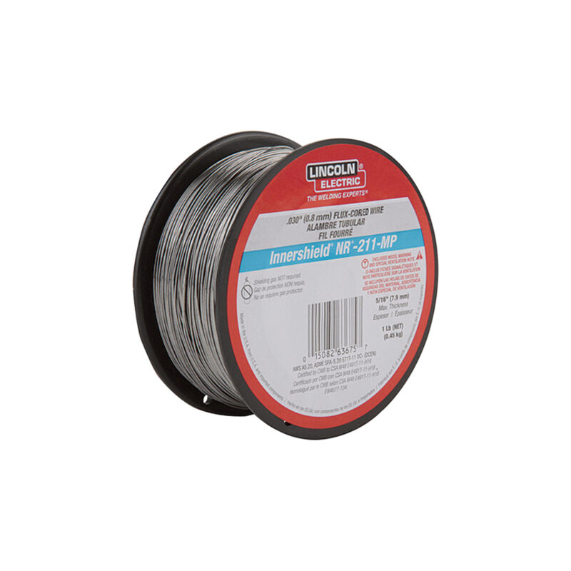 Lincoln Innershield NR-211 Flux-Cored Welding Wire 1Lb Spool 0.030in Dia.