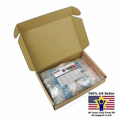 50value 250pcs 3w Metal Film Resistor -1 Assortment Kit Us Seller Kitb0143