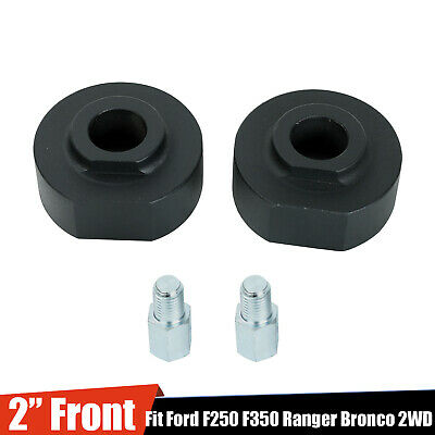 """2"""" FRONT LEVELING LIFT KIT FOR FORD F150 F250 F350 SUPER DUTY RANGER BRONCO 2WD"""