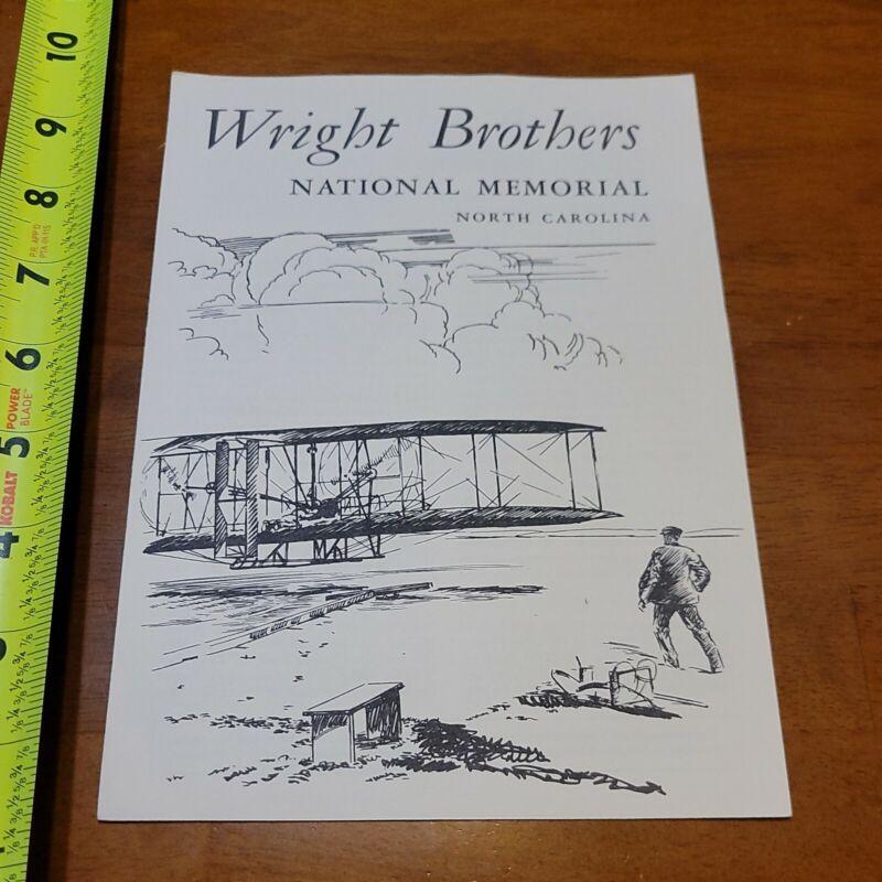 WRIGHT BROTHERS NATIONAL MEMORIAL NORTH CAROLINA BROCHURE VINTAGE 1959 2