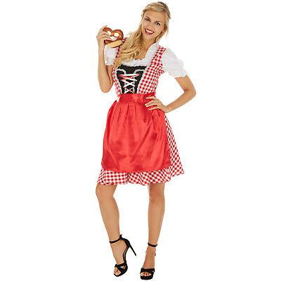 n Karneval Fasching Halloween Oktoberfest Wiesn Bayern Dress (Halloween Dirndl Kostüm)