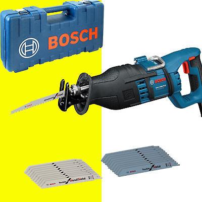 Bosch Säbelsäge GSA 1300 PCE Reciprosäge Koffer + extra Sägeblätter 20 Stück