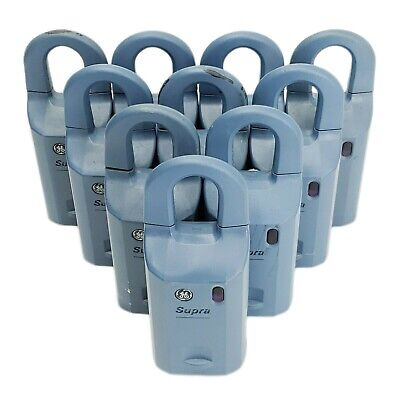 Lot Of 10 Ge Supra Ibox Real Estate Lockbox For Parts Repair As-is