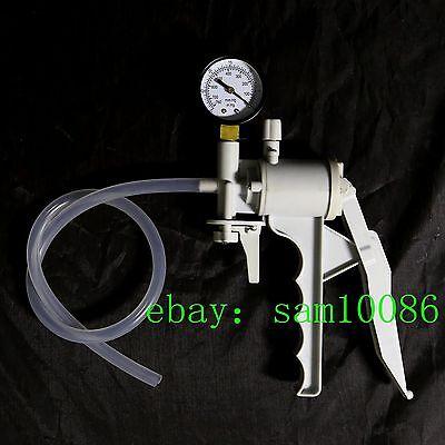 Lab Hand Held Vacuum Pumphandle Vacuum Pressure Suction Pumpmax 550mm Hgnew