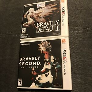 Bravely Second and Bravely Default for Nintendo 3DS