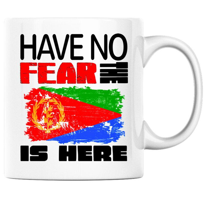 Have No Fear the Eritrean is Here Funny Coffee Mug Eritrea Heritage Pride