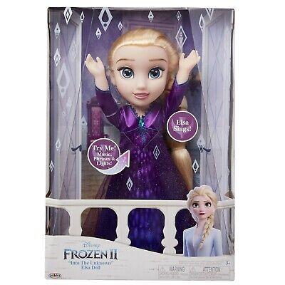 Disney Frozen 2 Elsa Musical Doll Sings 14 Phrases New FAST SHIPPING ✈