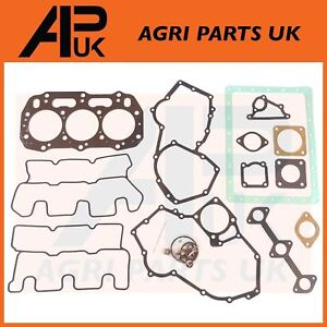 Perkins 400 403C 15 Series Engine FULL Gasket Set Head & Bottom 3 Cyl 84mm Bore