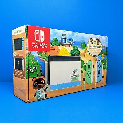Nintendo Switch Animal Crossing New Horizons Special Edition BOX & INSERTS ONLY
