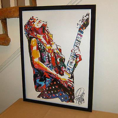Randy Rhoads, Ozzy Osbourne, Guitar Player, Guitarist, Rock, 18x24  POSTER w/COA