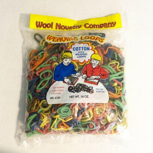 Weaving Loops Cotton Blend 16oz Assorted Colors Bag Refil l011169412160