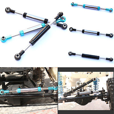 Alloy Steering Links - Servo Link LNL Metal Alloy Steering Rod for RC Crawler Climbing Hydraulic 1/10