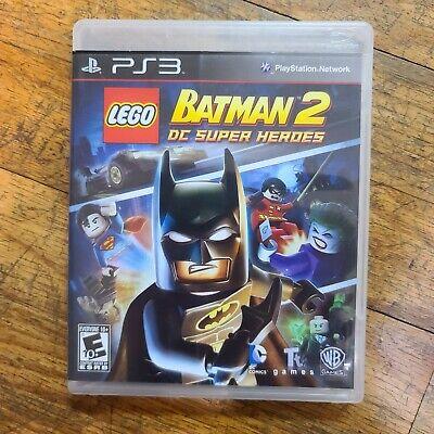 LEGO Batman 2: DC Super Heroes PS3 Cleaned & Tested NM