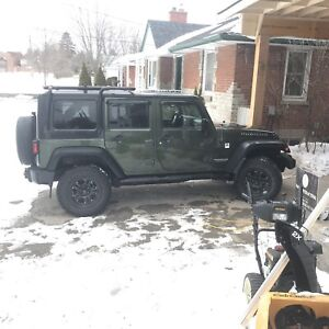 Reduced !!! 2008 Jeep Rubicon with Nav- will Trade boat