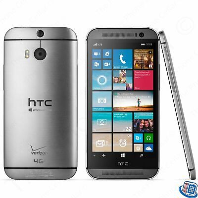 Unlocked Verizon HTC One M8 Gunmetal Gray 6995L GSM LTE Smartphone
