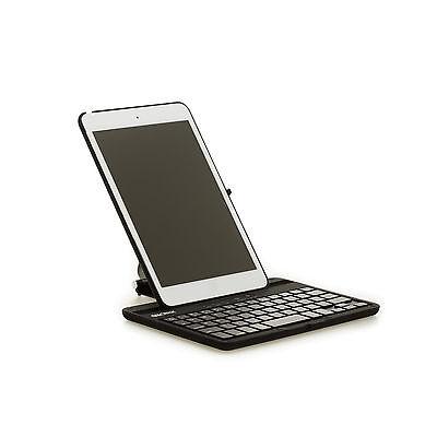 SHARKK iPad Mini 4 Bluetooth Wireless Keyboard Folio 360 Degree Case - Black