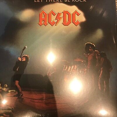 AC/DC - Let There Be Rock - 180gram Vinyl LP BRAND NEW & SEALED