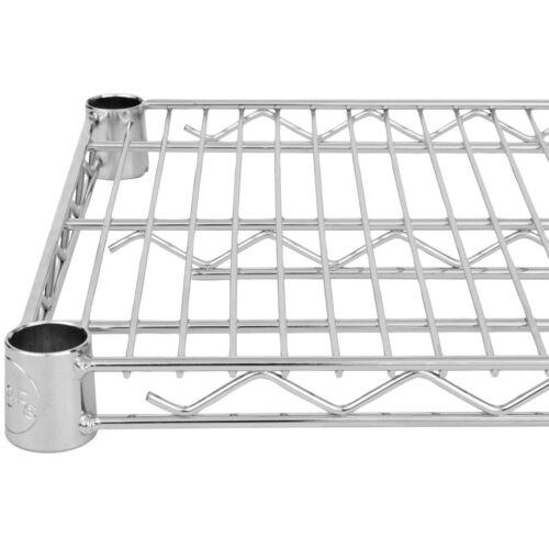 Commercial Chrome Wire Shelving 18x36 - (4 Shelves) - NSF
