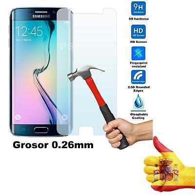 LAMINA VIDRIO CRISTAL TEMPLADO PREMIUM PROTECTOR PANTALLA Samsung Galaxy S6 Edge