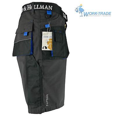 Arbeitshose Kurze Hose Kurz Bermuda Shorts Grau Schwarz Hellblau Gr. S - XXXL