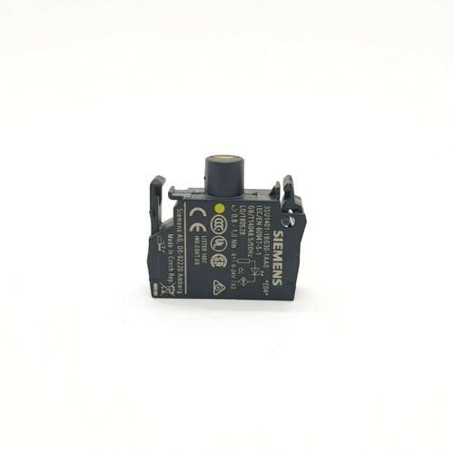 SIEMENS 3SU1401-1BG30-1AA0 LED-Modul AC/DC 6-24V gelb, Schraubanschluss