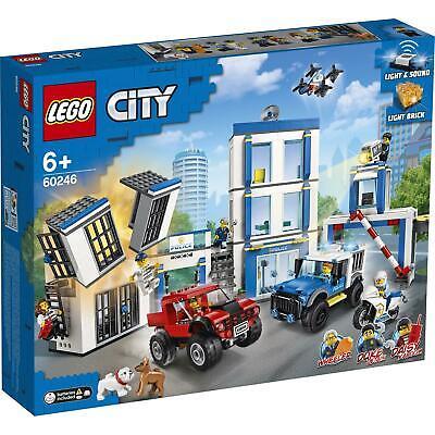 60246 LEGO CITY STAZIONE DI POLIZIA PZ 743 ANNI 6+ NUOVO GARANZIA