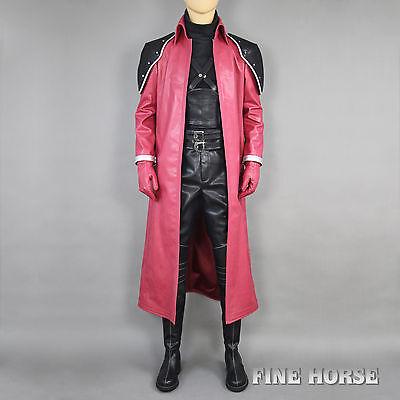 FF Final Fantasy 7 VII AC Genesis Rhapsodos Cosplay Costume Kostüm mit - Genesis Cosplay Kostüm
