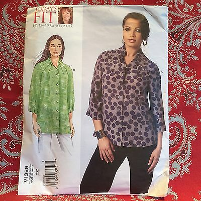 Vogue Patterns V1385OSZ Misses' Top Sewing Template, One Size Only. Best