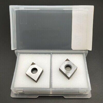 2pc Cnmg120404 Cbn Insert For Steel Process Diamond High Hardness Carbide Bits