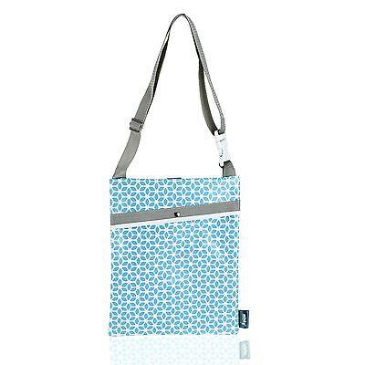 Minky Pattern Over Shoulder & Hook Weatherproof Washing Line Peg Storage Bag