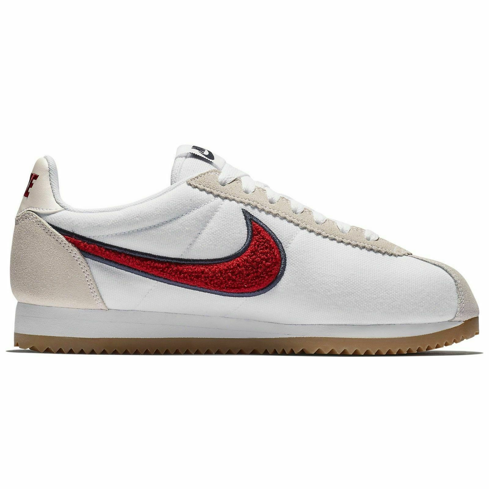 Nike Classic Cortez PREM White Red 905614-103 Casual Shoes Women's Multi Size 1