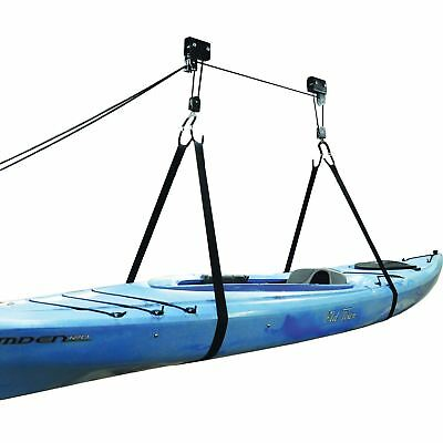 Legacy Kayak Ceiling Hoist Lift Pulley System Garage Storage Rack SUP Bike Canoe