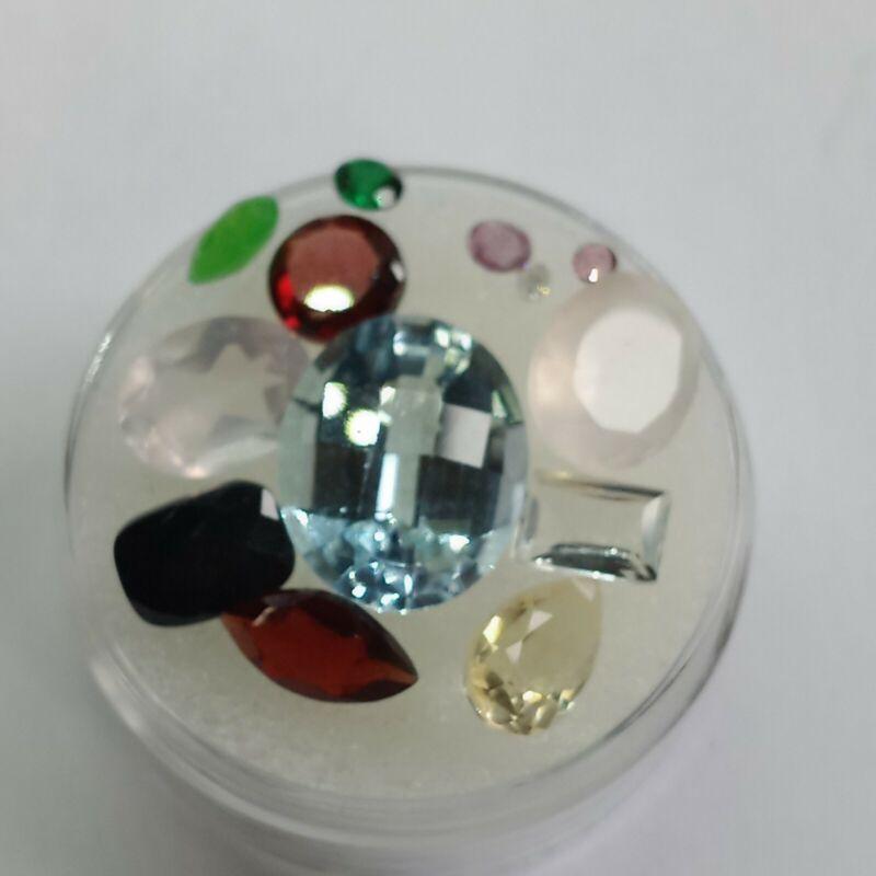 12.82cts Natural Mix Gemstone Parcel  #pt43