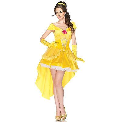 Sexy Leg Avenue Adult Women's Deluxe Disney™ Princess Enchanting Belle Costume