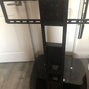 TV stand with two shelfs for DVD, game consoles.