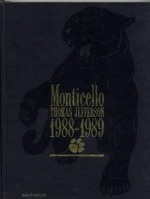 1988 89 Monticello  Thomas Jefferson Hs  Pittsburgh