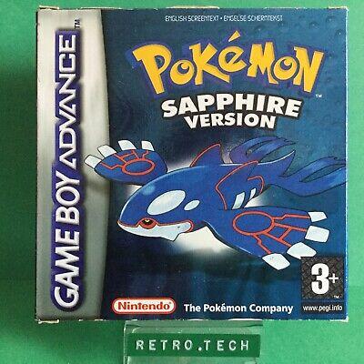 Pokémon: Sapphire Version - Nintendo Game Boy Advance