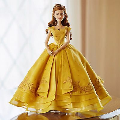 """DISNEY LIVE ACTION BEAUTY AND THE BEAST BELLE DOLL LIMITED EDITION NIB 17"""""""
