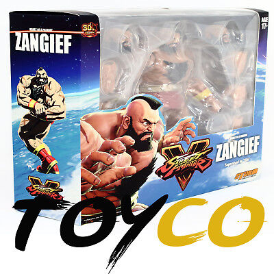 IN STOCK NEW USA Storm Collectibles Street Fighter V Action Figure Zangief  1/12