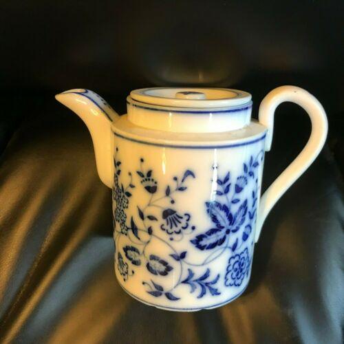 Antique German Blue Onion Teapot