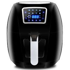 1700W Extra Large Deep Air Fryer LCD Display Temperature Control 6.3Qt 8 Presets