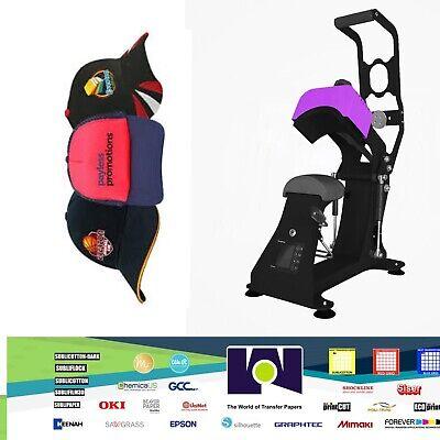 Xpress Ar Caphattag Heat Press Auto Release Cap - Sublimation - Heat Transfer