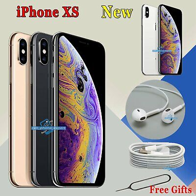 Unlocked Apple iPhone XS Sim Free Smartphone New Various Colours 64 256 512 GB