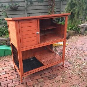 Rabbit Guinea Pig Hutch Brighton East Bayside Area Preview