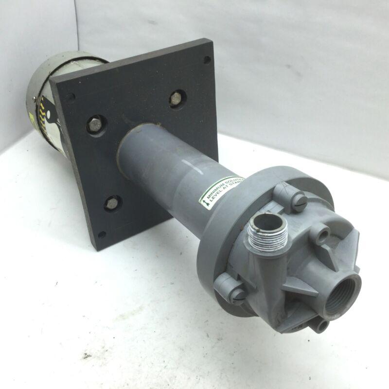Serfilco ECL3/4-2SC-D.3 Plastic Sump Pump 208-230V 3450RPM 1/3HP 3Ph Max 27 GPM