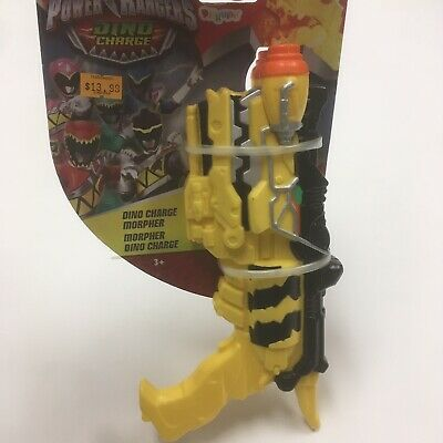 Power Rangers Dino Charge Morpher Yellow Plastic Cosplay - Dino Ranger Kostüm